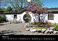 Chinese Garden Montreal Canada (Wall Calendar 2019 DIN A4 Landscape) - Produktdetailbild 3
