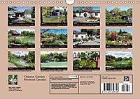Chinese Garden Montreal Canada (Wall Calendar 2019 DIN A4 Landscape) - Produktdetailbild 13