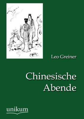 Chinesische Abende - Leo Greiner pdf epub
