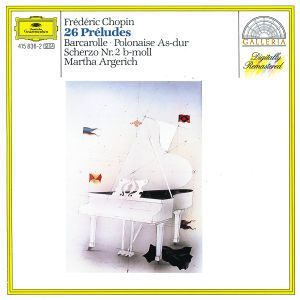 Chopin: 26 Preludes, Martha Argerich