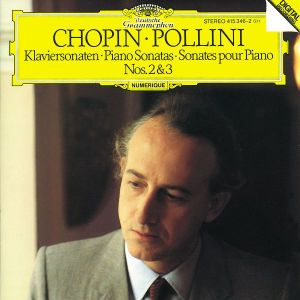 Chopin: Piano Sonatas Nos.2 & 3, Maurizio Pollini