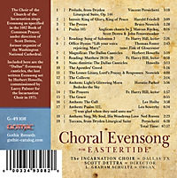 Choral Evensong For Eastertide - Produktdetailbild 1