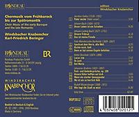 Chormusik Vom Frühbarock Bis Zur Spätromantik - Produktdetailbild 1