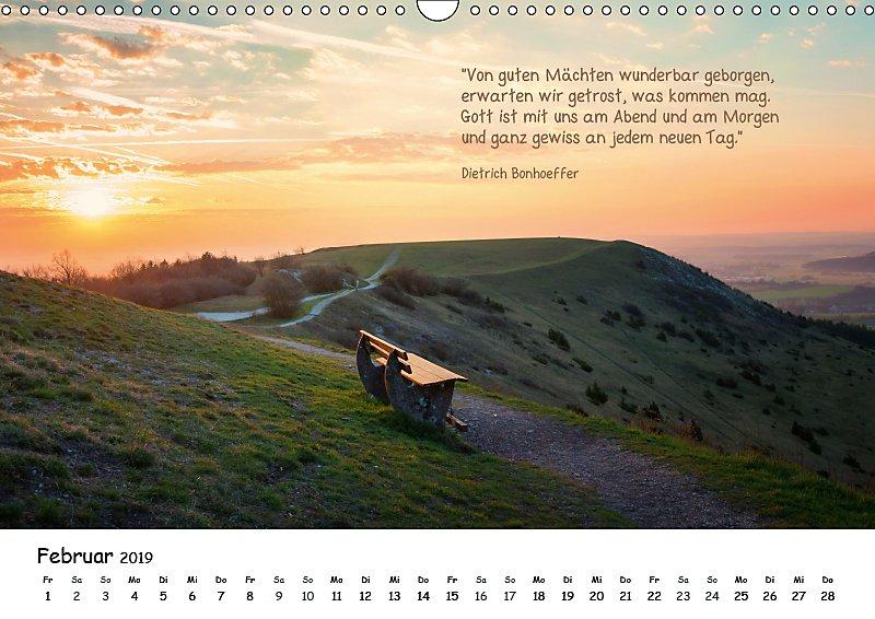 Christliche Bildpoesie 2019 Wandkalender 2019 Din A3 Quer