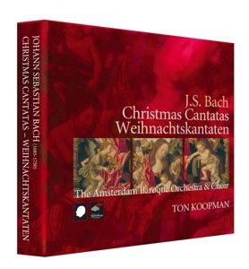 Christmas Cantatas-Weihnacht, Ton Koopman, The Amsterdam Baroque Orchestra &