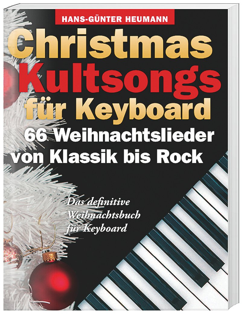 Christmas Kultsongs für Keyboard Buch portofrei bei Weltbild.ch