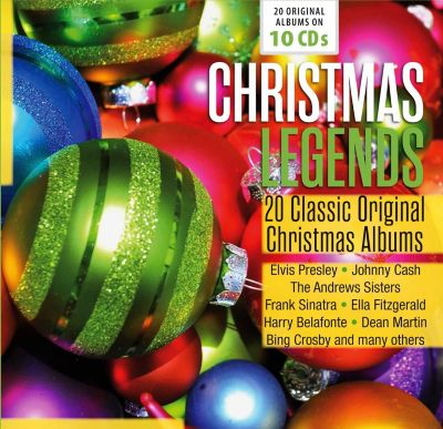 Christmas Legends, 10 CDs, Various