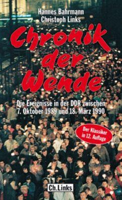 Chronik der Wende, Hannes Bahrmann, Christoph Links