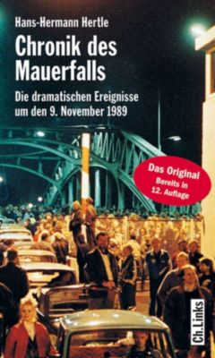 Chronik des Mauerfalls, Hans-hermann Hertle