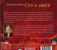 Chroniken der Unterwelt Band 2: City of Ashes (6 Audio-CDs) - Produktdetailbild 1