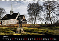 Churches of Norway (Wall Calendar 2019 DIN A3 Landscape) - Produktdetailbild 4