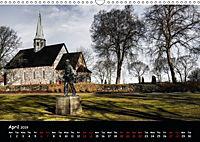 Churches of Norway (Wall Calendar 2019 DIN A3 Landscape) - Produktdetailbild 4