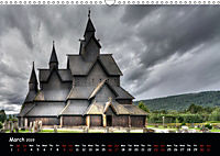 Churches of Norway (Wall Calendar 2019 DIN A3 Landscape) - Produktdetailbild 3