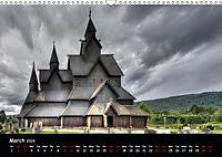 Churches of Norway (Wall Calendar 2019 DIN A3 Landscape) - Produktdetailbild 3