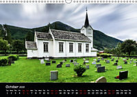 Churches of Norway (Wall Calendar 2019 DIN A3 Landscape) - Produktdetailbild 10