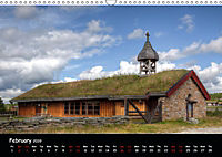 Churches of Norway (Wall Calendar 2019 DIN A3 Landscape) - Produktdetailbild 2