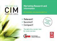 CIM Revision Cards Marketing Research and Information, John Williams