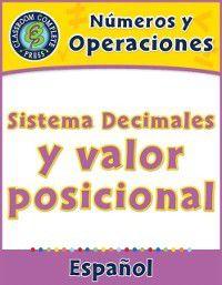 Cinco Capitulos de las Series de Matematicas - Numeros y Operaciones 3-5: Numeros y Operaciones: Sistema Decimales y valor posicional, Nat Reed