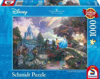 Cinderella (Puzzle), Thomas Kinkade