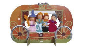Cinderella - Wool Finger Puppets