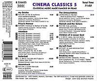 Cinema Classics 5 - Produktdetailbild 1