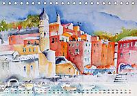 Cinque Terre - Aquarelle und Fotografien (Tischkalender 2019 DIN A5 quer) - Produktdetailbild 6