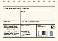 Cinque Terre - Aquarelle und Fotografien (Tischkalender 2019 DIN A5 quer) - Produktdetailbild 13
