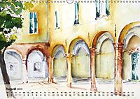 Cinque Terre - Aquarelle und Fotografien (Wandkalender 2019 DIN A3 quer) - Produktdetailbild 8