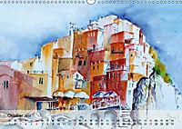 Cinque Terre - Aquarelle und Fotografien (Wandkalender 2019 DIN A3 quer) - Produktdetailbild 10
