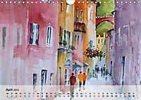 Cinque Terre - Aquarelle und Fotografien (Wandkalender 2019 DIN A4 quer) - Produktdetailbild 4