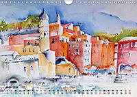 Cinque Terre - Aquarelle und Fotografien (Wandkalender 2019 DIN A4 quer) - Produktdetailbild 6