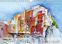 Cinque Terre - Aquarelle und Fotografien (Wandkalender 2019 DIN A4 quer) - Produktdetailbild 10