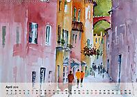 Cinque Terre - Aquarelle und Fotografien (Wandkalender 2019 DIN A2 quer) - Produktdetailbild 4