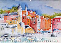 Cinque Terre - Aquarelle und Fotografien (Wandkalender 2019 DIN A2 quer) - Produktdetailbild 6