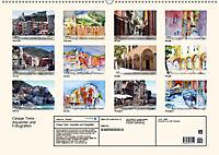 Cinque Terre - Aquarelle und Fotografien (Wandkalender 2019 DIN A2 quer) - Produktdetailbild 13
