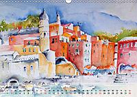 Cinque Terre - Aquarelle und Fotografien (Wandkalender 2019 DIN A3 quer) - Produktdetailbild 6