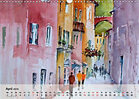 Cinque Terre - Aquarelle und Fotografien (Wandkalender 2019 DIN A3 quer) - Produktdetailbild 4