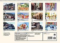 Cinque Terre - Aquarelle und Fotografien (Wandkalender 2019 DIN A3 quer) - Produktdetailbild 13
