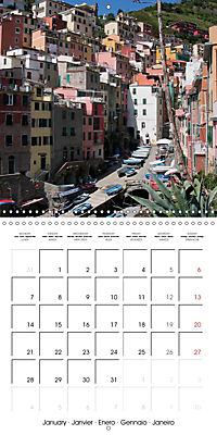Cinque Terre - The Five Lands of Liguria (Wall Calendar 2019 300 × 300 mm Square) - Produktdetailbild 1
