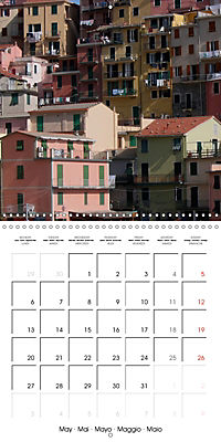 Cinque Terre - The Five Lands of Liguria (Wall Calendar 2019 300 × 300 mm Square) - Produktdetailbild 5
