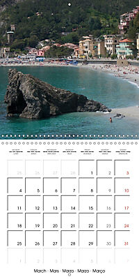 Cinque Terre - The Five Lands of Liguria (Wall Calendar 2019 300 × 300 mm Square) - Produktdetailbild 3