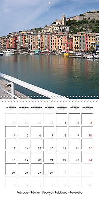 Cinque Terre - The Five Lands of Liguria (Wall Calendar 2019 300 × 300 mm Square) - Produktdetailbild 2