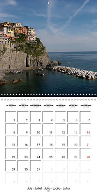Cinque Terre - The Five Lands of Liguria (Wall Calendar 2019 300 × 300 mm Square) - Produktdetailbild 7