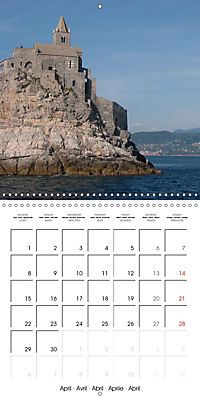Cinque Terre - The Five Lands of Liguria (Wall Calendar 2019 300 × 300 mm Square) - Produktdetailbild 4