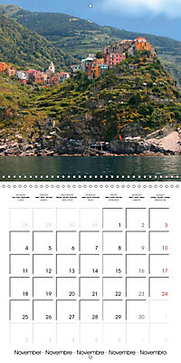 Cinque Terre - The Five Lands of Liguria (Wall Calendar 2019 300 × 300 mm Square) - Produktdetailbild 11