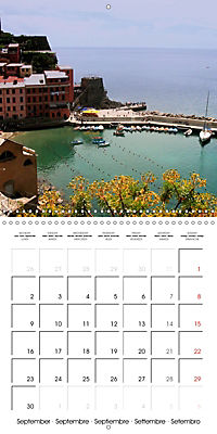 Cinque Terre - The Five Lands of Liguria (Wall Calendar 2019 300 × 300 mm Square) - Produktdetailbild 9