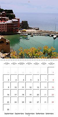 Cinque Terre - The Five Lands of Liguria (Wall Calendar 2019 300 × 300 mm Square) - Produktdetailbild 9