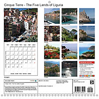 Cinque Terre - The Five Lands of Liguria (Wall Calendar 2019 300 × 300 mm Square) - Produktdetailbild 13
