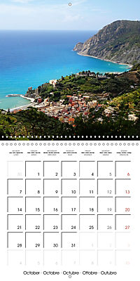 Cinque Terre - The Five Lands of Liguria (Wall Calendar 2019 300 × 300 mm Square) - Produktdetailbild 10