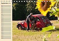 Citroën 2CV - Ente rot (Tischkalender 2019 DIN A5 quer) - Produktdetailbild 9